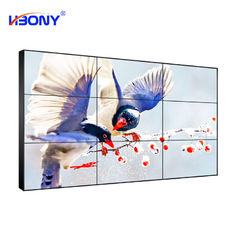 Full Viewing Angle Seamless Video Wall 55'' 1080P Resolution Screens For Shooping Mall
