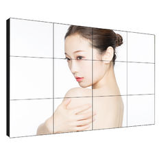 High Brightness Lcd Video Wall 55 Inch Narrow Bezel 1.7mm For 1 Year Warranty
