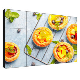 China 55 Inch Seamless Lcd Display Large Viewing Angle With 1.7mm Ultar Thin Bezel supplier