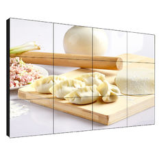 High Brightness LCD Video Wall 55 Inch 1W 1.7mm Thickness Large Visual Angle