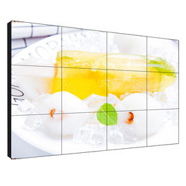 China Wide Screen Seamless LCD Video Wall 55 Inch 500 Nits Brightness With Controller supplier