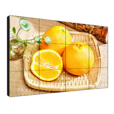 Large Screen Seamless LCD Video Wall 55 Inch 500 Nits Brightness With LED Bcaklit