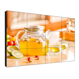 180 Watt Slim Lcd Video Wall 178 Degree Full Visual Angle With Led Backlight