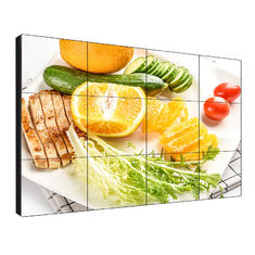 Brightness 500 Nits 55'' Lcd Video Wall 1.7mm Bezel HBONY Aspect Ratio 16/ 9