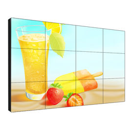 CE, FCC, RoHS 46 inch Seamless Lcd Video Wall With Max Power Consumption 180W