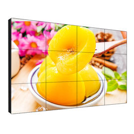 Ultra Thin Lcd Video Wall Display High Deinition With 178 Degree Visual Angle