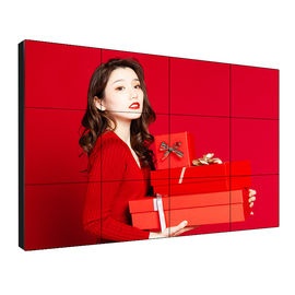Indoor Narrow Bezel Video Wall , Lcd Wall Display High Brightness 55'' 1080FHD
