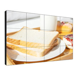 "Tiled LCD Video Wall Display 46"" Super Narrow Bezel 3.5/1.7mm LED Backlit 180W"