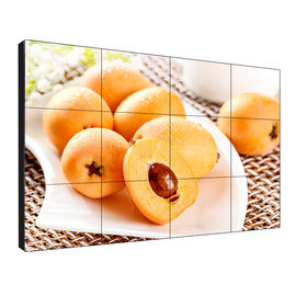 Narrow Bezel Video Wall Displays , Multi Screen Wall Advertising Display 500 Nits Brightness