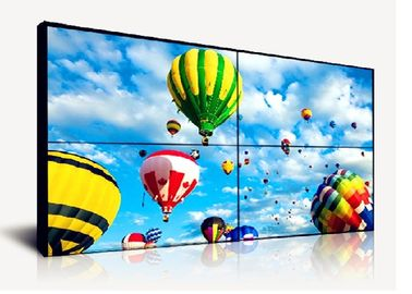 46 Inch Touch Screen Video Wall Supper Narrow Bezel 500cd/m2 Brightness AC100V~240V