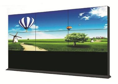 LED Backlight LCD Video Wall Narrow Bezel 55 Inch High Brightness 178° Visual Angle