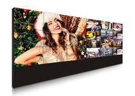 China 3.5 Mm Bezel Large Video Wall Displays , High Resolution Multi Screen Display Wall factory