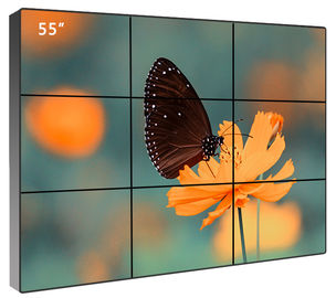 China Big Screen Smart Seamless Digital Signage Video Wall Multimedia 1920*1080 Resolution factory